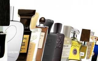 Рейтинг нишевой парфюмерии