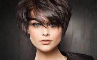Женские короткие волосы