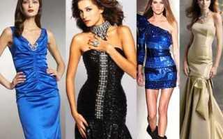 Выкройка новогоднего платья для женщины