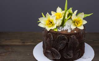 Модное украшение тортов