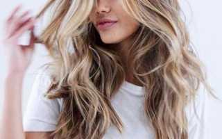 Длинные волосы без челки фото