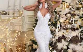 Красивые платья для женщин на новый год