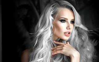 Как покрасить русые волосы в пепельный