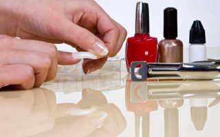 Сколько держатся накладные ногти