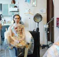Ламинирование волос с помощью