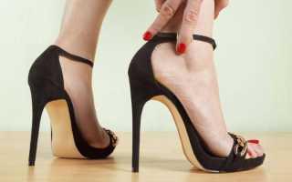 Как измерить каблук на туфлях