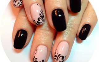 Видео рисунки на ногтях для начинающих