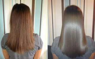 Ламинирование волос видео