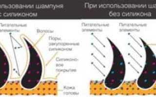 Кондиционер для волос с силиконом