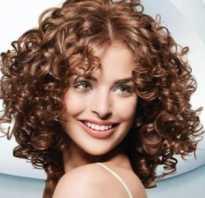 Кудри на волосах средней длины
