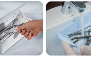 Жидкость для стерилизации маникюрных инструментов