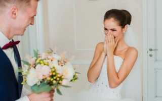 Почему жениху нельзя видеть платье невесты