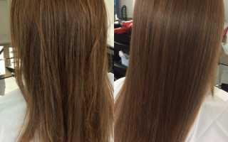 Как быстрее смыть ботокс с волос