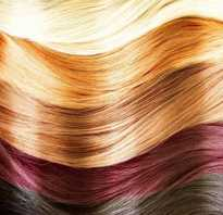 Как называется темный цвет волос