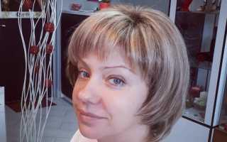 Короткие темно русые волосы