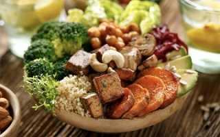 Вегетарианская диета на неделю
