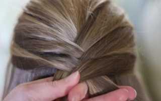 Как заплести косички на средние волосы