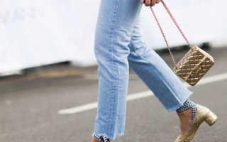 Модная обувь к джинсам